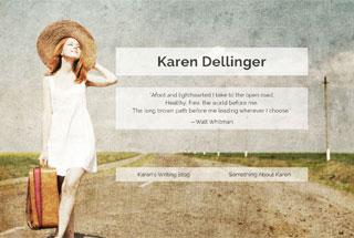 Karen Dellinger, Writer